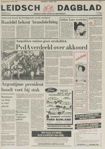 Leidsch Dagblad 1982-04-15