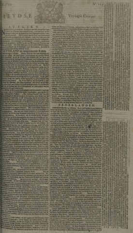 Leydse Courant 1744-10-16