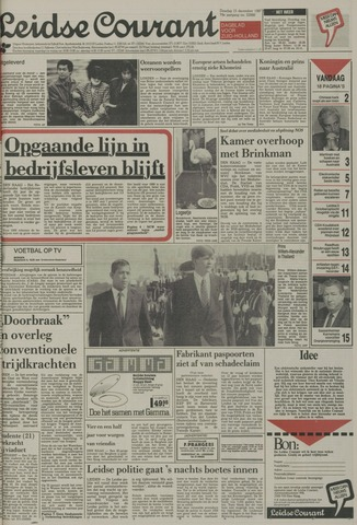 Leidse Courant 1987-12-15