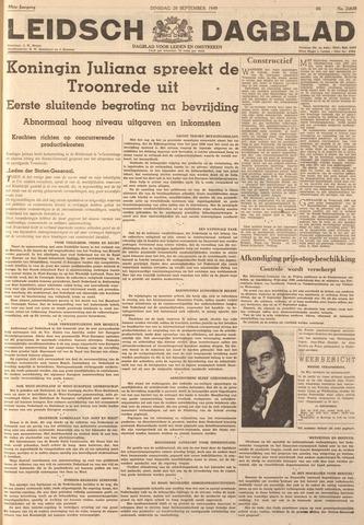 Leidsch Dagblad 1949-09-20
