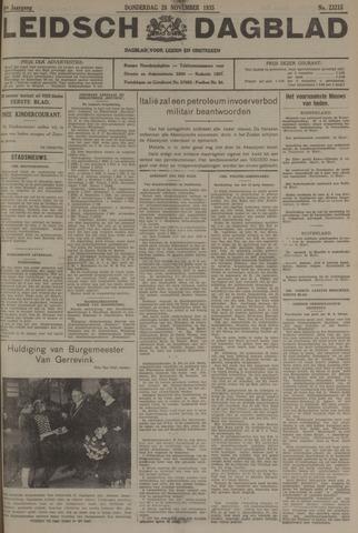 Leidsch Dagblad 1935-11-28