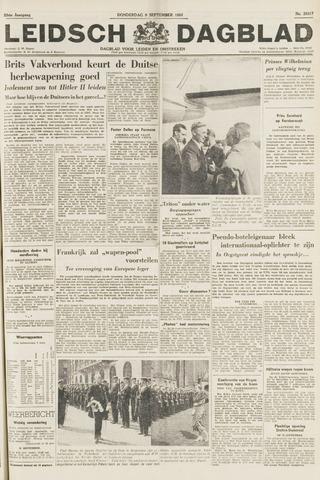 Leidsch Dagblad 1954-09-09
