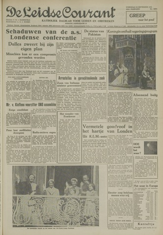 Leidse Courant 1954-09-22
