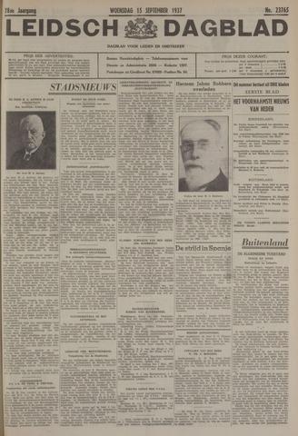 Leidsch Dagblad 1937-09-15