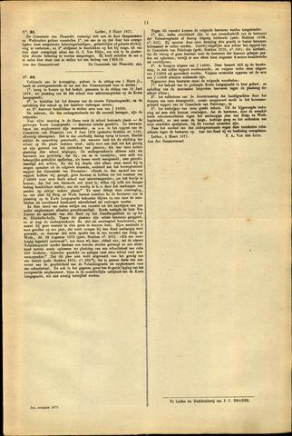 Handelingen van de Raad 1877-03-02