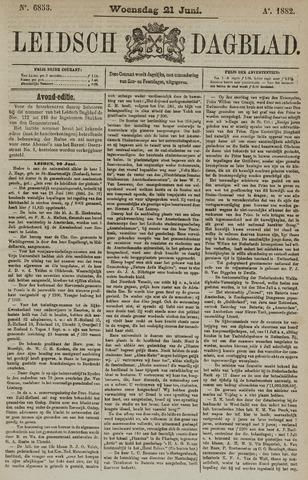 Leidsch Dagblad 1882-06-21