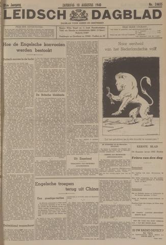 Leidsch Dagblad 1940-08-10