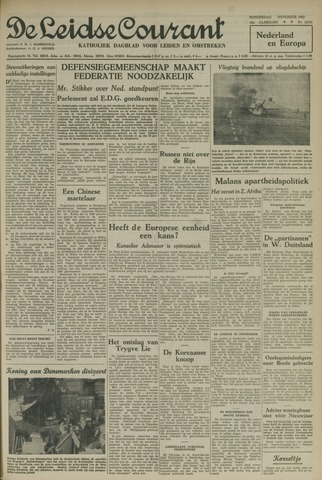 Leidse Courant 1952-11-13