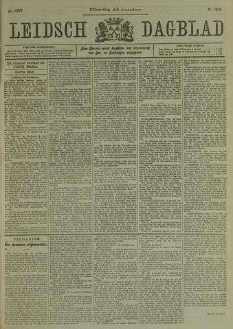 Leidsch Dagblad 1909-10-12