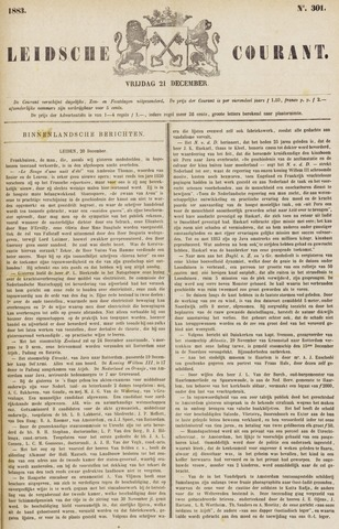 Leydse Courant 1883-12-21