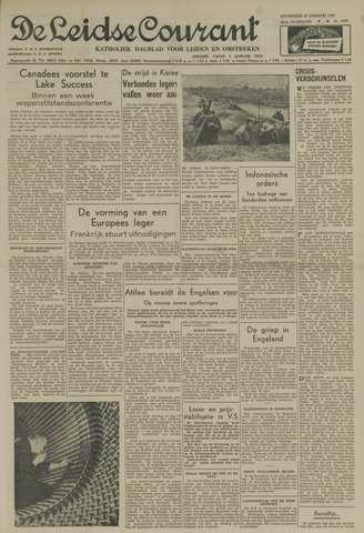 Leidse Courant 1951-01-27