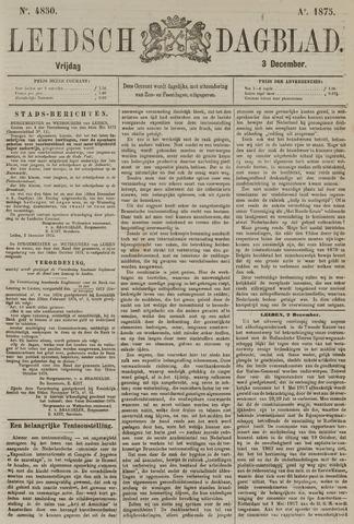 Leidsch Dagblad 1875-12-03