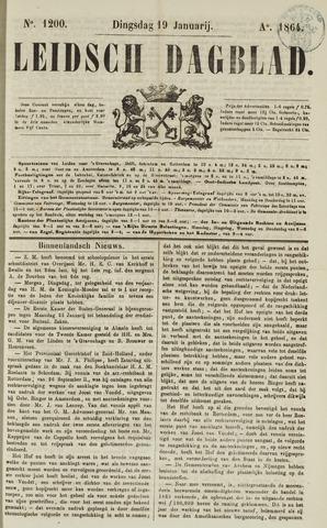 Leidsch Dagblad 1864-01-19