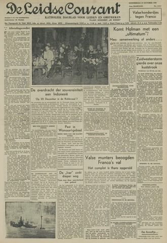 Leidse Courant 1949-10-27