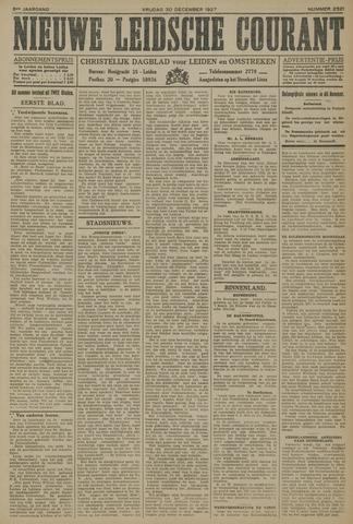 Nieuwe Leidsche Courant 1927-12-30