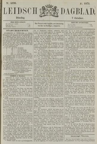 Leidsch Dagblad 1873-10-07