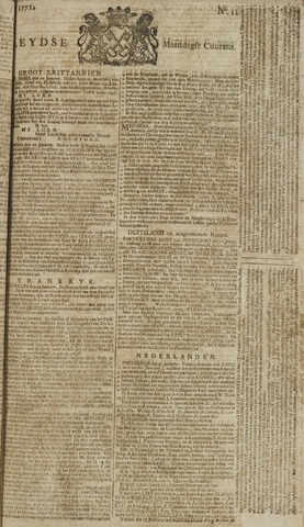 Leydse Courant 1771-01-28