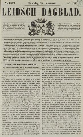 Leidsch Dagblad 1866-02-26