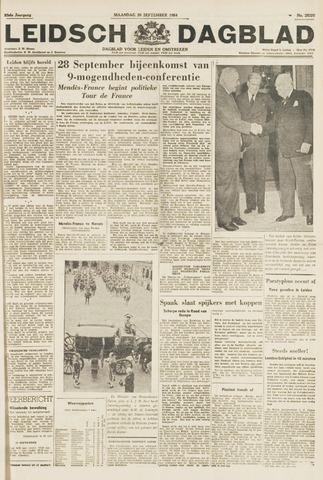 Leidsch Dagblad 1954-09-20