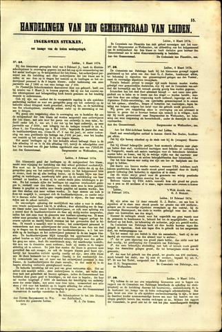 Handelingen van de Raad 1874-03-06