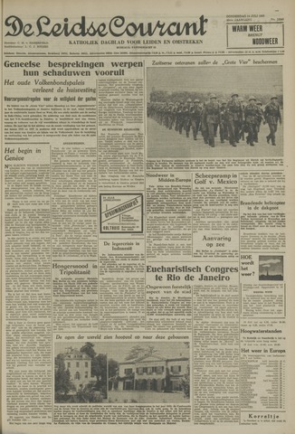 Leidse Courant 1955-07-14