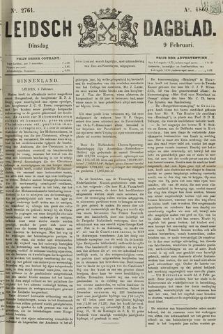 Leidsch Dagblad 1869-02-09