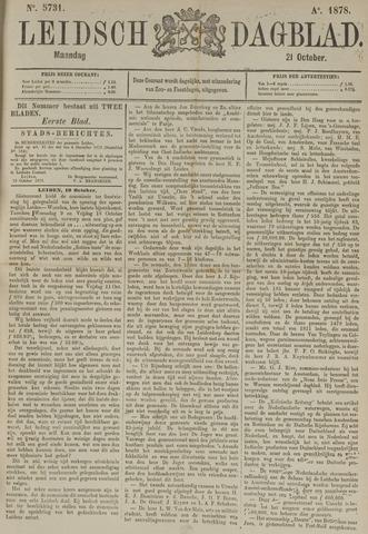 Leidsch Dagblad 1878-10-21