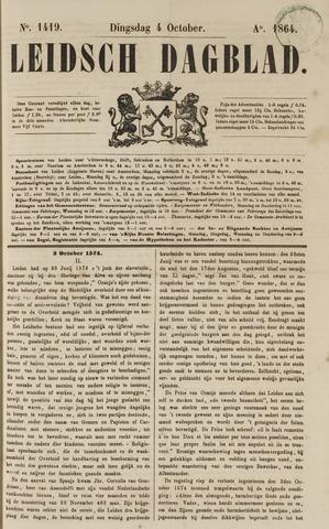 Leidsch Dagblad 1864-10-04