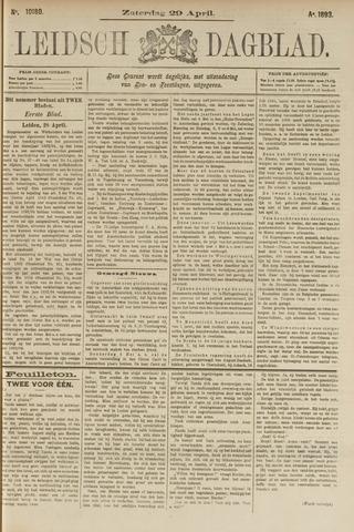 Leidsch Dagblad 1893-04-29