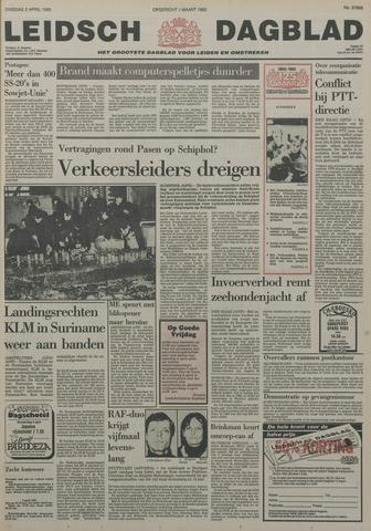 Leidsch Dagblad 1985-04-02