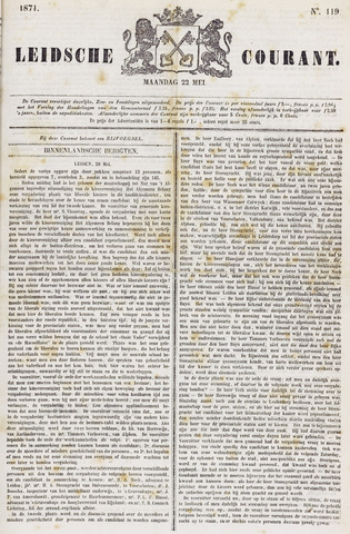 Leydse Courant 1871-05-22