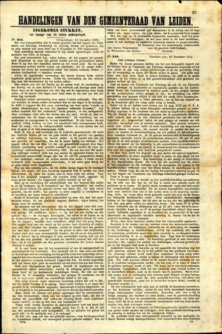 Handelingen van de Raad 1873-12-14