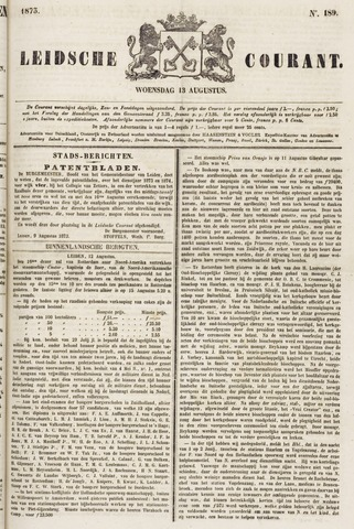 Leydse Courant 1873-08-13