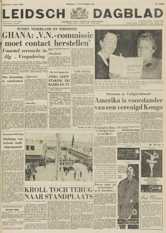 Leidsch Dagblad 1961-11-17