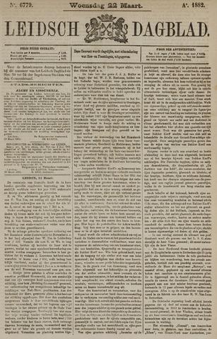 Leidsch Dagblad 1882-03-22