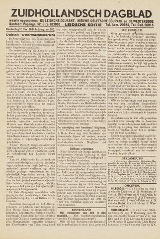 Zuidhollandsch Dagblad 1944-11-23