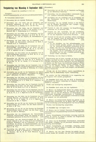 Handelingen van de Raad 1937-09-06