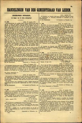 Handelingen van de Raad 1872-08-22