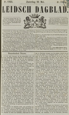 Leidsch Dagblad 1866-05-26