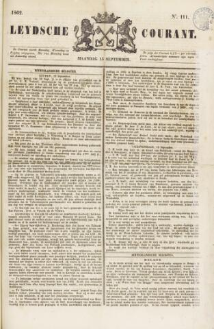 Leydse Courant 1862-09-15