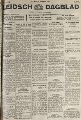 Leidsch Dagblad 1933-11-06