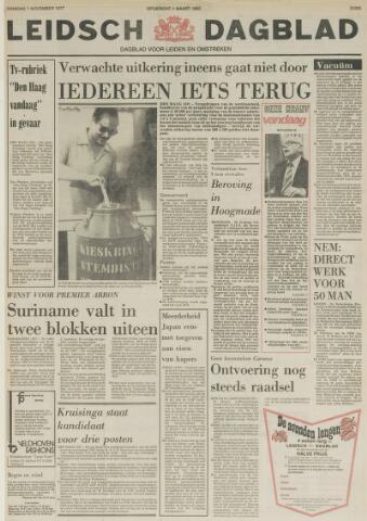 Leidsch Dagblad 1977-11-01