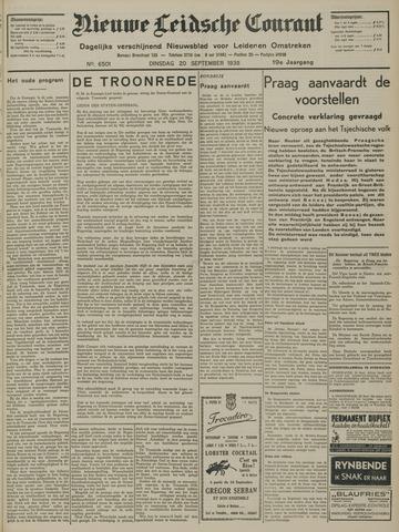 Nieuwe Leidsche Courant 1938-09-20