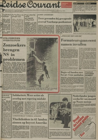 Leidse Courant 1981-08-06