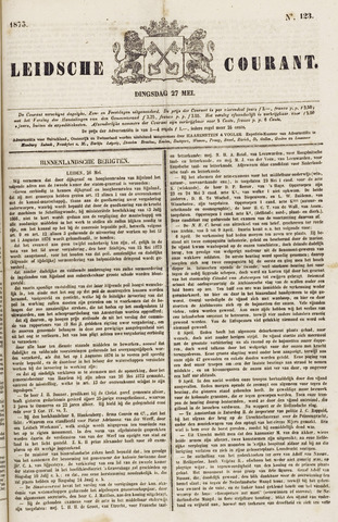 Leydse Courant 1873-05-27