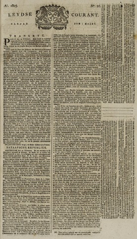 Leydse Courant 1805-03-01