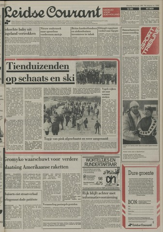 Leidse Courant 1985-01-14