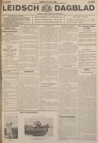 Leidsch Dagblad 1930-07-29