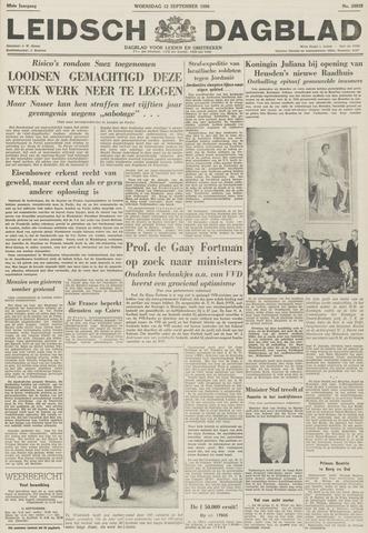 Leidsch Dagblad 1956-09-12