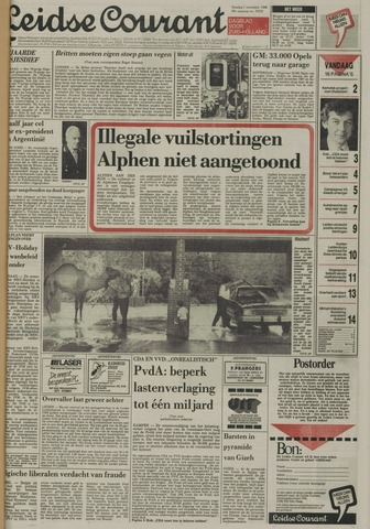 Leidse Courant 1988-11-01